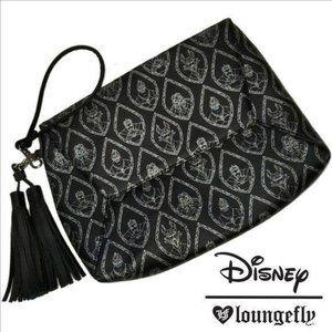 Disney Villains Tassel Clutch/Wristlet Handbag